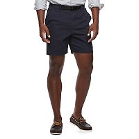 Men's Croft & Barrow® Classic-Fit Twill Belted Outdoor Shorts