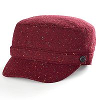 Women's Apt. 9® Button Accent Speckled Cadet Hat