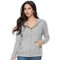 Women's Juicy Couture Embellished Heather Hoodie