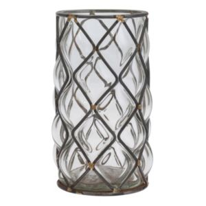 Stonebriar Collection Glass Vase Table Decor