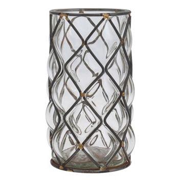 Stonebriar Collection Glass Vase Table Decor
