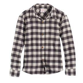Boys 4-10 Jumping Beans® Flannel Plaid Button-Down Shirt