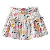 Baby Girl Jumping Beans® Print Tulip-Hem Skort