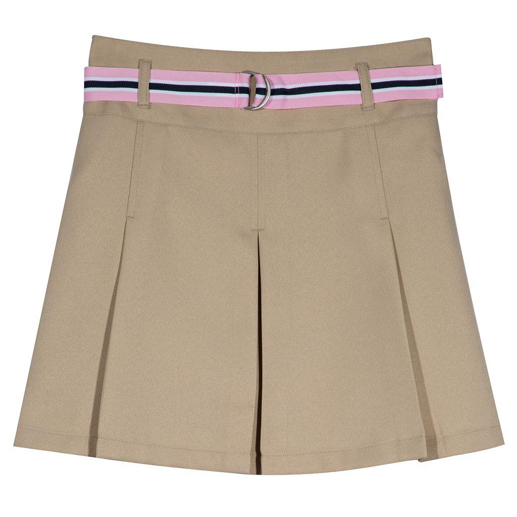 Girls 7-16 Chaps Belted Skort