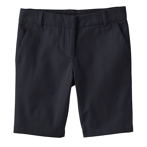 Girls 4-16 Chaps Skinny Bermuda Shorts