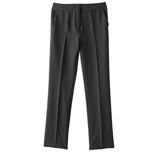 Girls 4-16 Chaps Straight Dress Pants