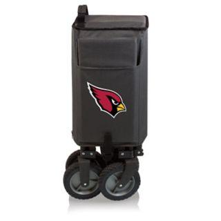 Picnic Time Arizona Cardinals Adventure Folding Utility Wagon