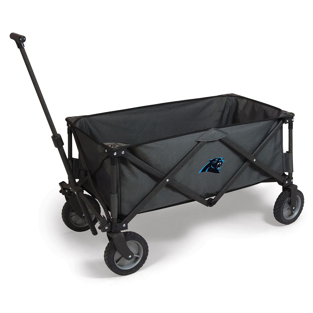 Picnic Time Carolina Panthers Adventure Folding Utility Wagon