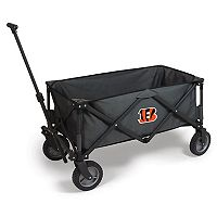 Picnic Time Cincinnati Bengals Adventure Folding Utility Wagon