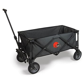 Picnic Time Cleveland Browns Adventure Folding Utility Wagon