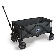 Picnic Time Dallas Cowboys Adventure Folding Utility Wagon