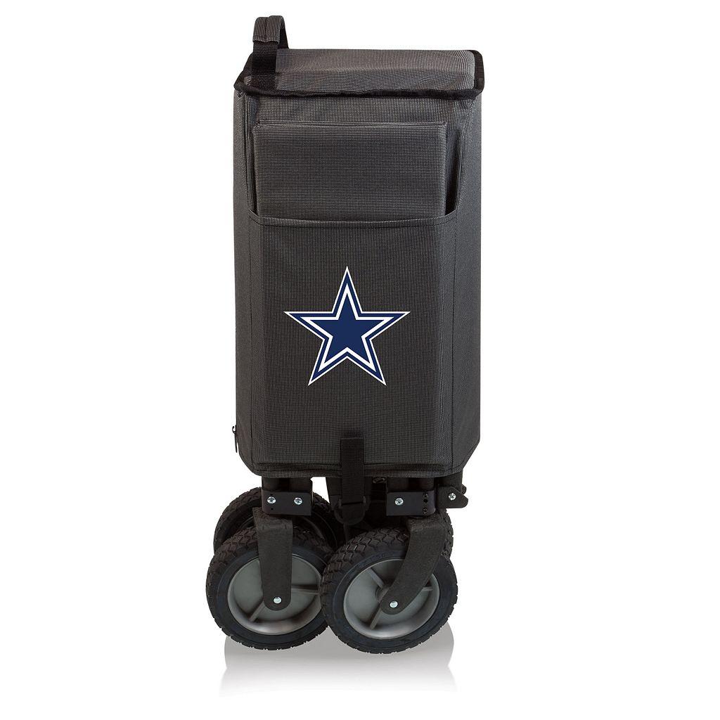 Picnic Time Dallas Cowboys Adventure Folding Utility Wagon