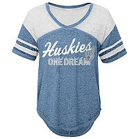 Women's UConn Huskies Football Tee