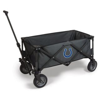 Picnic Time Indianapolis Colts Adventure Folding Utility Wagon