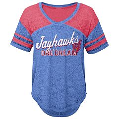 Juniors' Kansas Jayhawks Football Tee