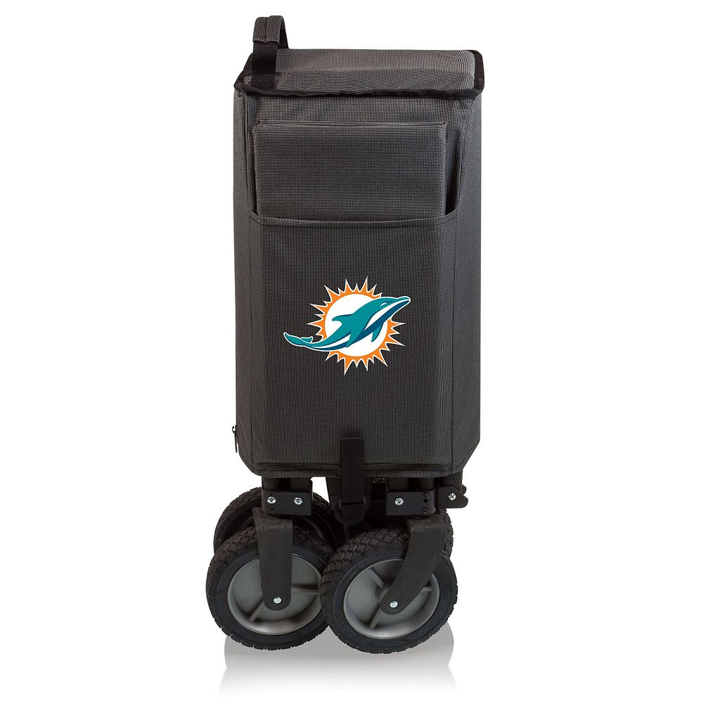 Picnic Time Miami Dolphins Adventure Folding Utility Wagon