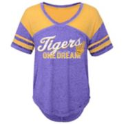 Juniors' LSU Tigers Football Tee