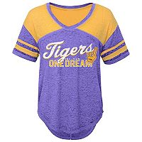 Juniors' LSU Tigers Football Tee