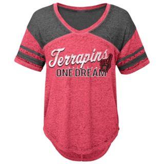 Juniors' Maryland Terrapins Football Tee