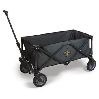 Picnic Time New Orleans Saints Adventure Folding Utility Wagon