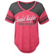 Juniors' Rutgers Scarlet Knights Football Tee