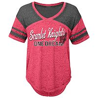 Juniors' Rutgers Scarlet Knights Football Tee