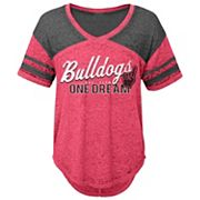 Juniors' Georgia Bulldogs Football Tee