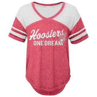 Juniors' Indiana Hoosiers Football Tee
