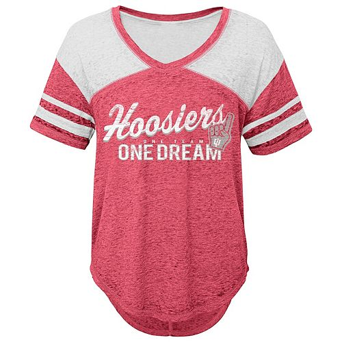 Juniors' Indiana Hoosiers Football Tee
