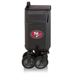 Picnic Time San Francisco 49ers Adventure Folding Utility Wagon