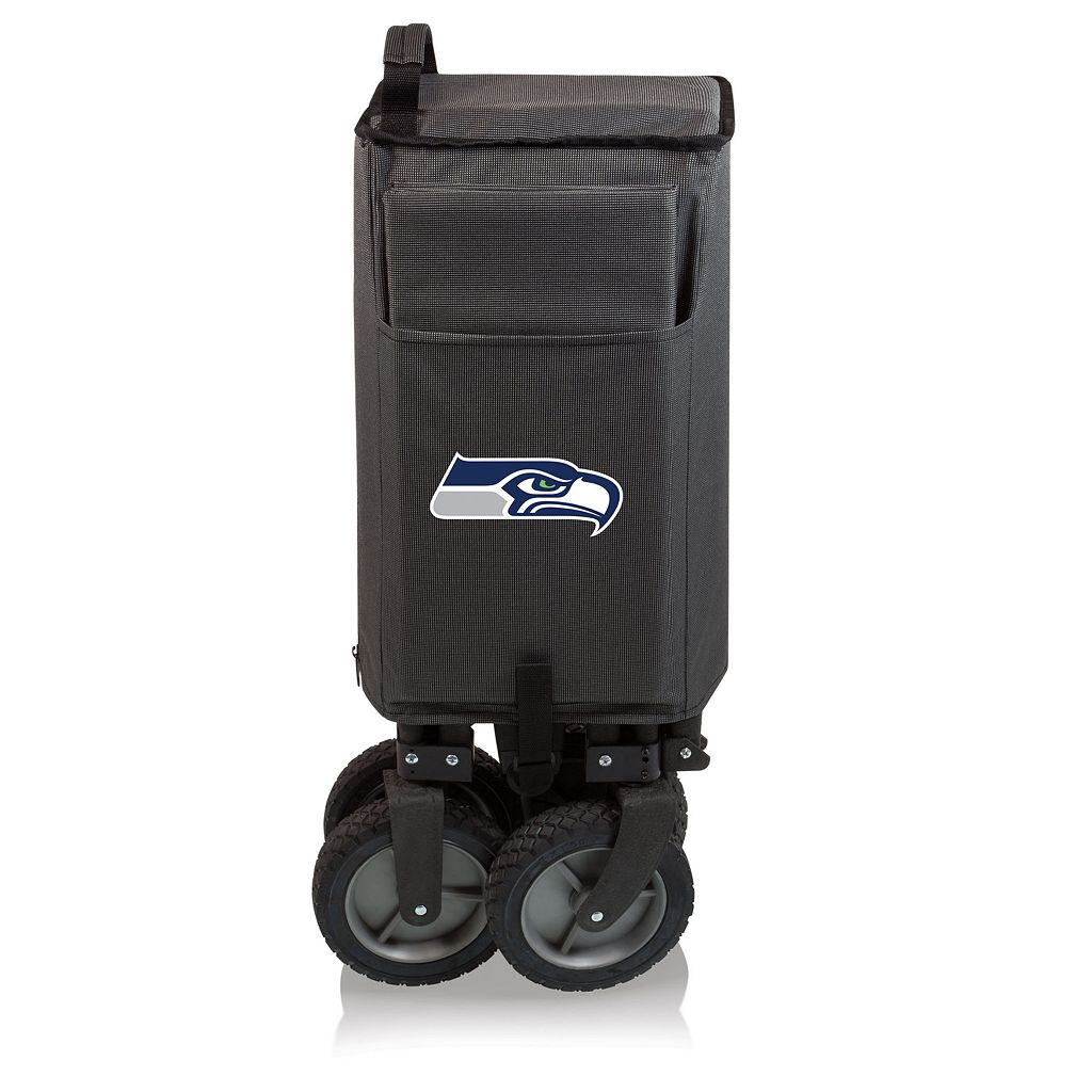 Picnic Time Seattle Seahawks Adventure Folding Utility Wagon
