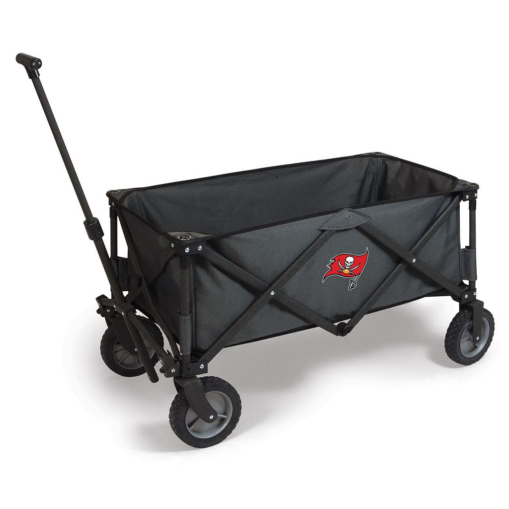 Picnic Time Tampa Bay Buccaneers Adventure Folding Utility Wagon