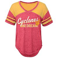 Juniors' Iowa State Cyclones Football Tee