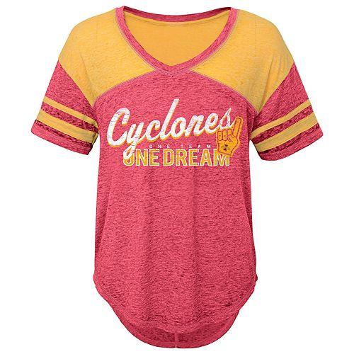 Juniors' Iowa State Cyclones Football Tee