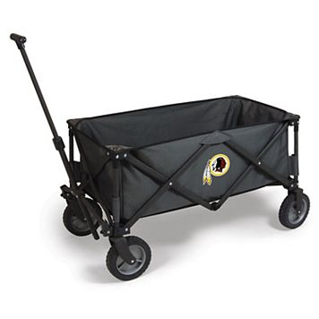Picnic Time Washington Redskins Adventure Folding Utility Wagon