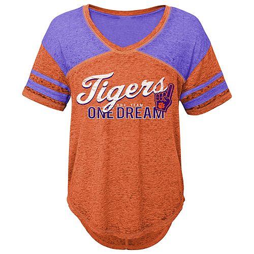 Juniors' Clemson Tigers Football Tee
