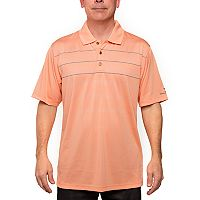 Men's Pebble Beach Classic-Fit Gradient-Striped Performance Golf Polo