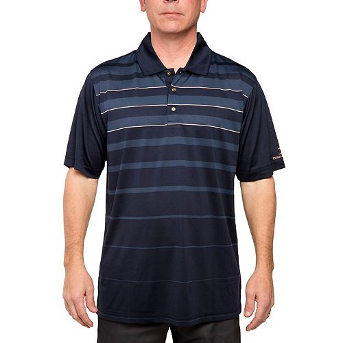 99be292ba1 Men's Pebble Beach Classic-Fit Gradient-Striped Performance Golf Polo