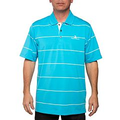 Men's Pebble Beach Classic-Fit Engineer-Striped Performance Golf Polo