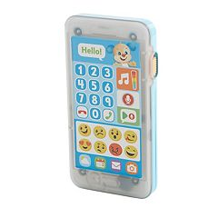 Fisher-Price Laugh & Learn Leave a Message Blue Smart Phone