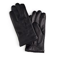 Men's Chaps Classic Leather Touchscreen Gloves