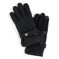 Men's Chaps Melton Thinsulate Touchscreen Gloves