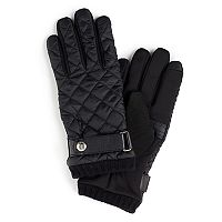 Men's Chaps Quilted Thinsulate Stretch Touchscreen Gloves