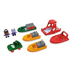 Aquaplay Boat 8 pc Playset
