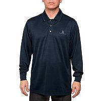 Men's Pebble Beach Classic-Fit Heathered Easy-Care Performance Golf Polo