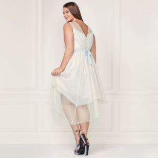 LC Lauren Conrad Runway Collection Layered Tulle Midi Dress - Plus Size