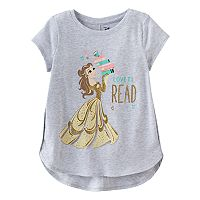 Disney's Beauty and the Beast Belle Girls 4-10 Glitter Graphic Tee by Jumping Beans®