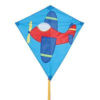 Premier Kites Bold Innovations 30-in. Airplane Diamond Kite