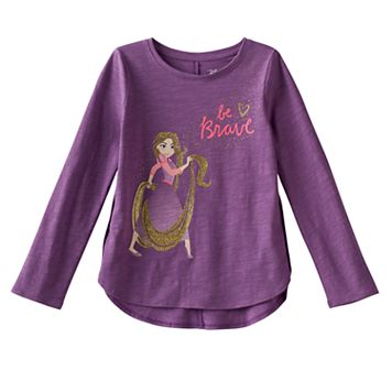 Disney's Tangled Rapunzel Girls 4-10 Glittery Graphic Tee by Jumping Beans®