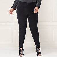 LC Lauren Conrad Runway Collection Velvet Leggings - Plus Size